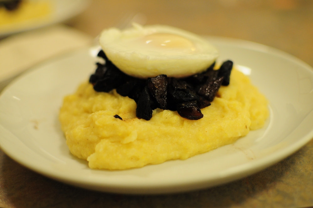 how to cook polenta mash