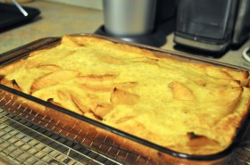 Cooling clafouti
