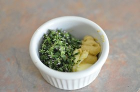 Thyme, butter, and dijon