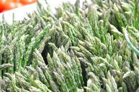 Waves of asparagus