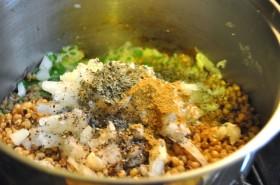 Pre-mixed kibbeh