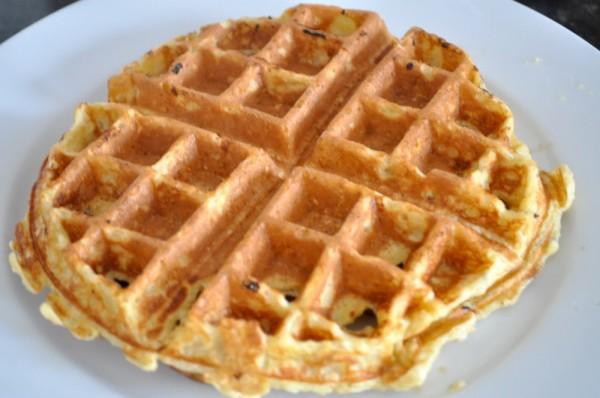 Local oat waffle