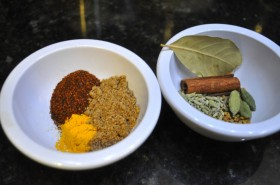 Curry Spices - Groups 1 and 2