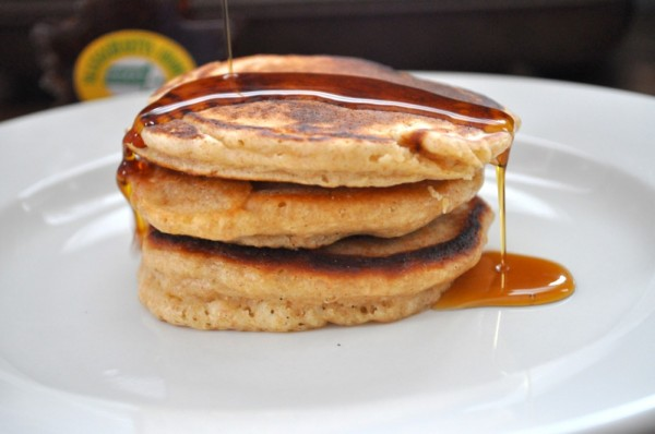 Blizzard pancakes